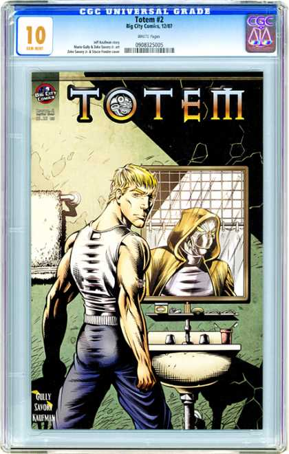 CGC Graded Comics - Totem #2 (CGC) - Totem - Mirror - Man - Gully - Sayoky