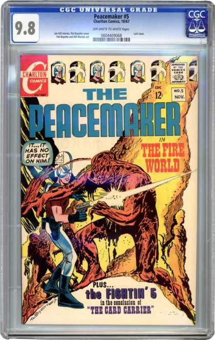 CGC Graded Comics - Peacemaker #5 (CGC)