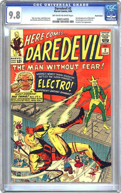 CGC Graded Comics - Daredevil #2 (CGC)
