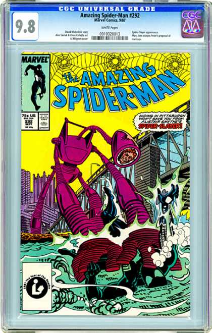 CGC Graded Comics - Amazing Spider-Man #292 (CGC)
