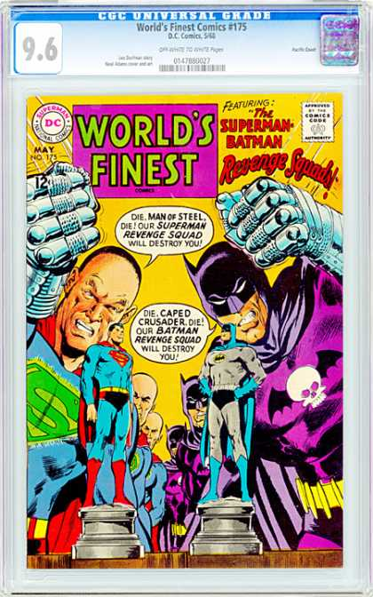 CGC Graded Comics - World's Finest Comics #175 (CGC)