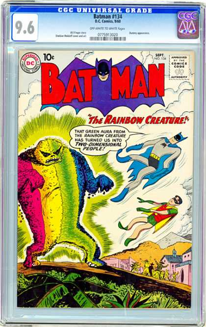 CGC Graded Comics - Batman #134 (CGC)