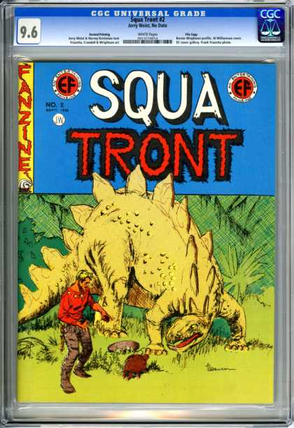 CGC Graded Comics - Squa Tront #2 (CGC)
