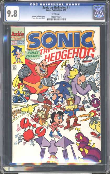 CGC Graded Comics - Sonic the Hedgehog #1 (CGC)