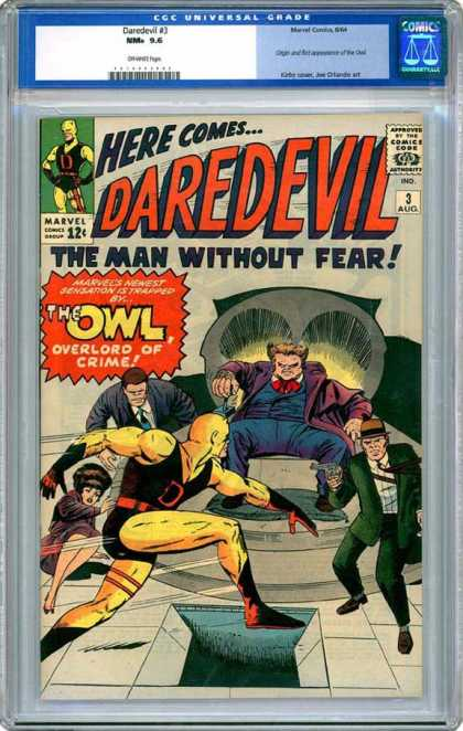 CGC Graded Comics - Daredevil #3 (CGC)