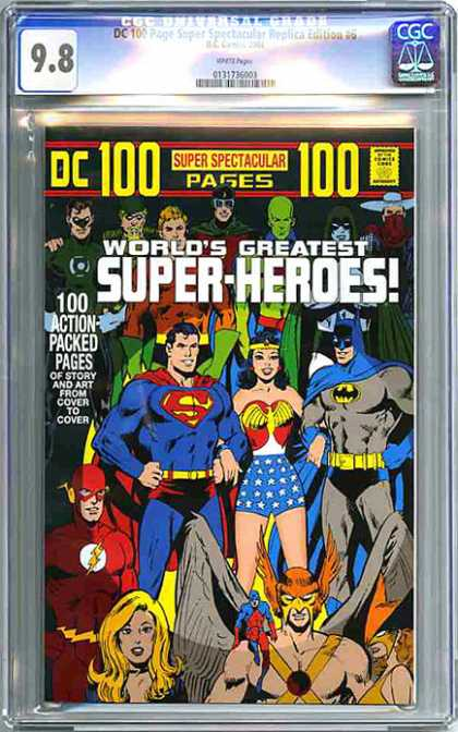 CGC Graded Comics - DC 100 Page Super Spectacular Replica Edition #6 (CGC)