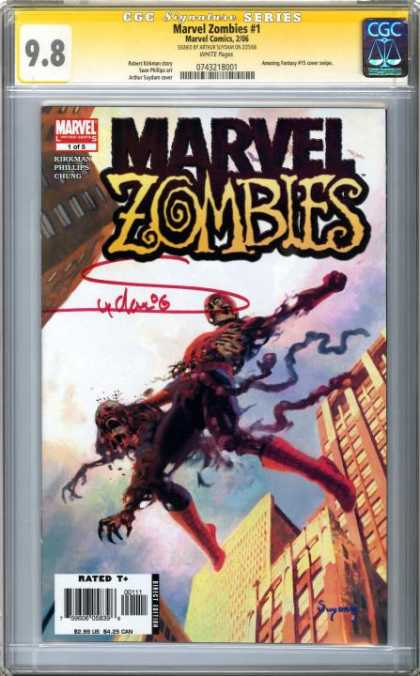 CGC Graded Comics - Marvel Zombies #1 (CGC)