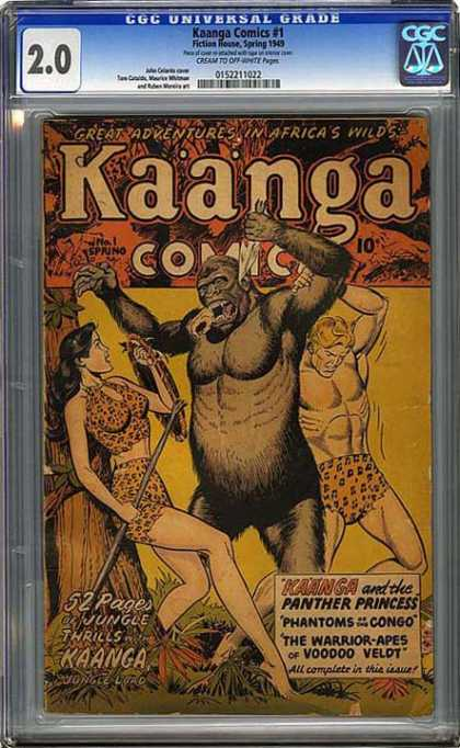 CGC Graded Comics - Kaanga Comics #1 (CGC)