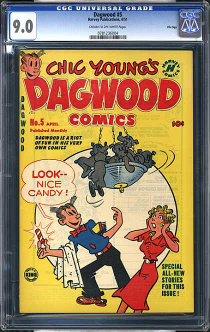 CGC Graded Comics - Dagwood #5 (CGC)