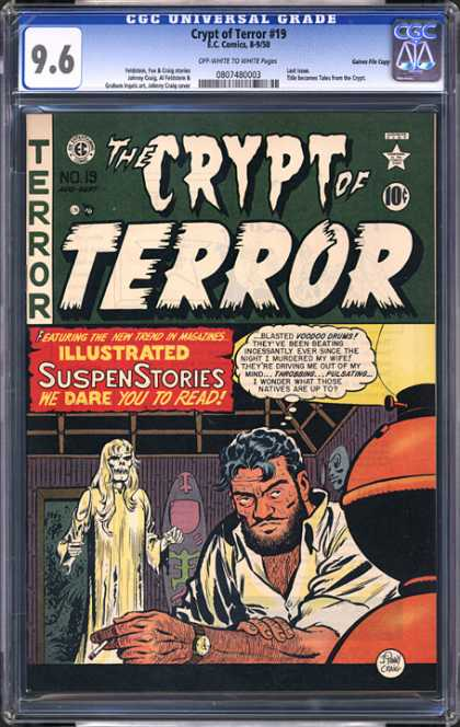 CGC Graded Comics - Crypt of Terror #19 (CGC)