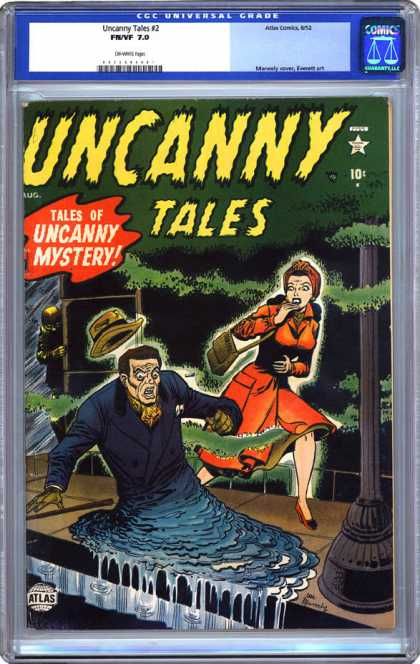 CGC Graded Comics - Uncanny Tales #2 (CGC)