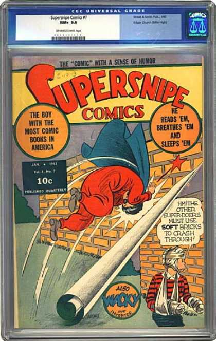 CGC Graded Comics - Supersnipe Comics #7 (CGC)