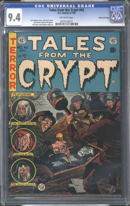 CGC Graded Comics - Tales from the Crypt #42 (CGC)