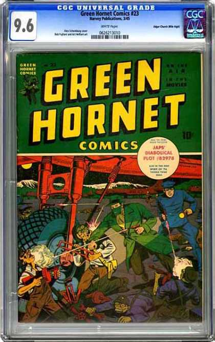 CGC Graded Comics - Green Hornet Comics #23 (CGC)