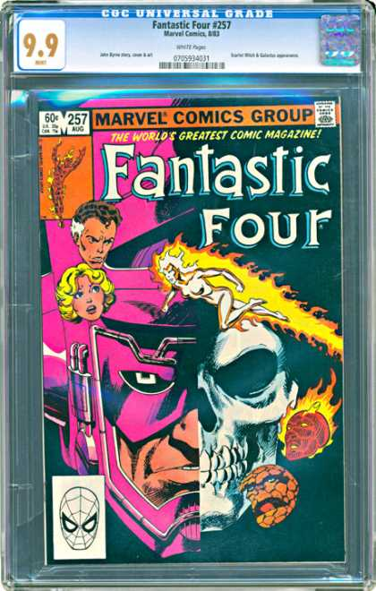 CGC Graded Comics - Fantastic Four #257 (CGC)