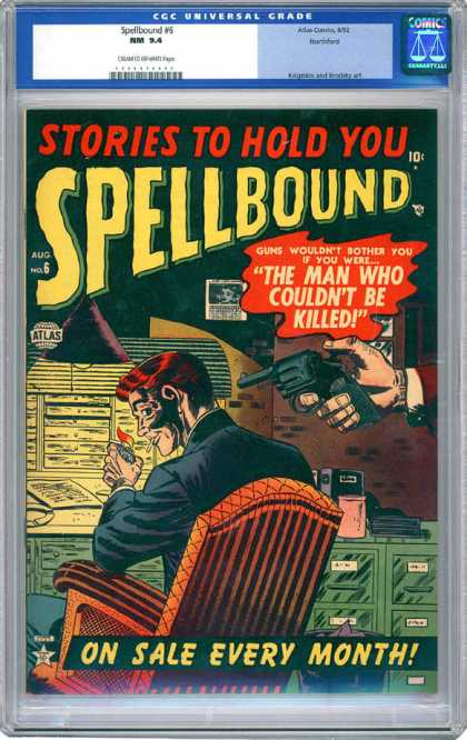 CGC Graded Comics - Spellbound #6 (CGC)