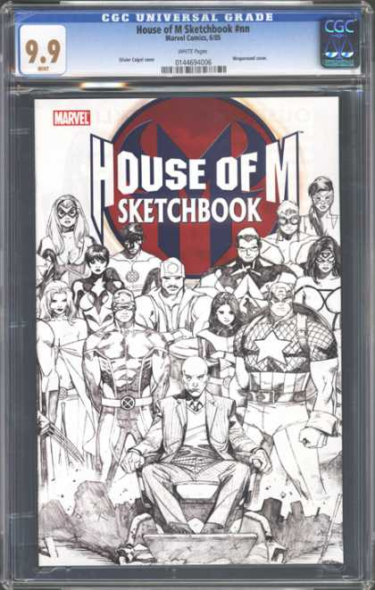 CGC Graded Comics - House of M Sketchbook #nn (CGC)