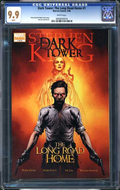 CGC Graded Comics - Dark Tower: The Long Road Home #1 (CGC) - Dark Tower - Stephen King - Marvel - Woman - The Long Road Home
