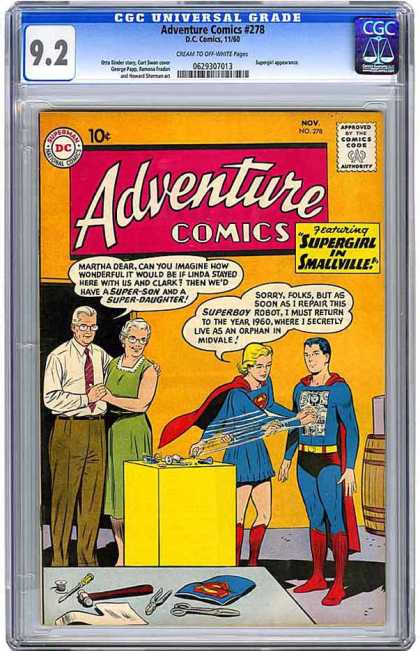 CGC Graded Comics - Adventure Comics #278 (CGC)