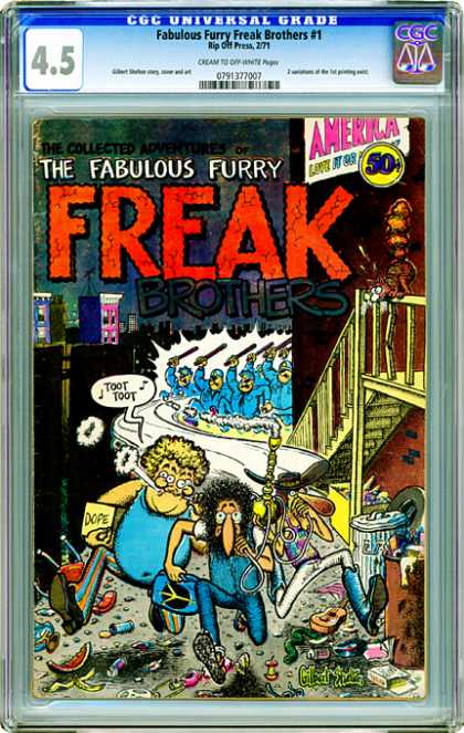 CGC Graded Comics - Fabulous Furry Freak Brothers #1 (CGC)