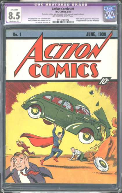 CGC Graded Comics - Action Comics #1 (CGC)