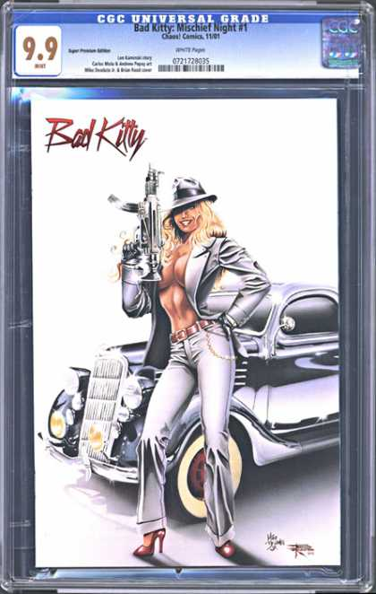 CGC Graded Comics - Bad Kitty: Mischief Night #1 (CGC)
