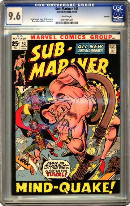CGC Graded Comics - Sub-Mariner #43 (CGC)