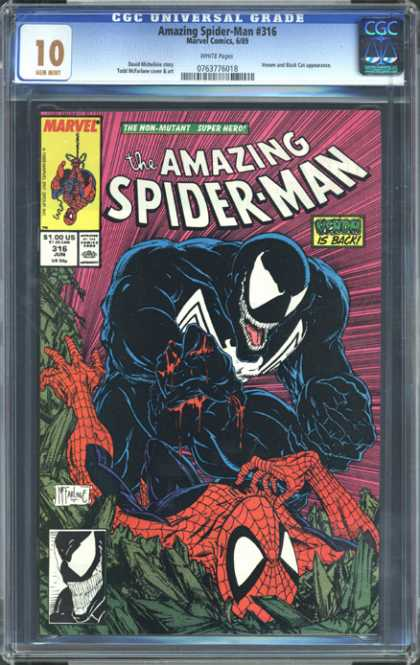 CGC Graded Comics - Amazing Spider-Man #316 (CGC)
