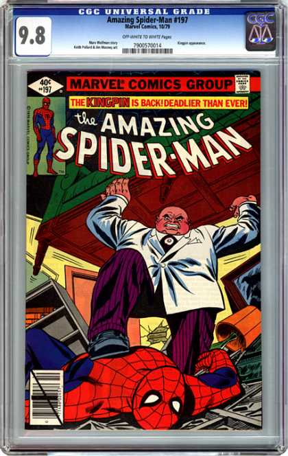 CGC Graded Comics - Amazing Spider-Man #197 (CGC)