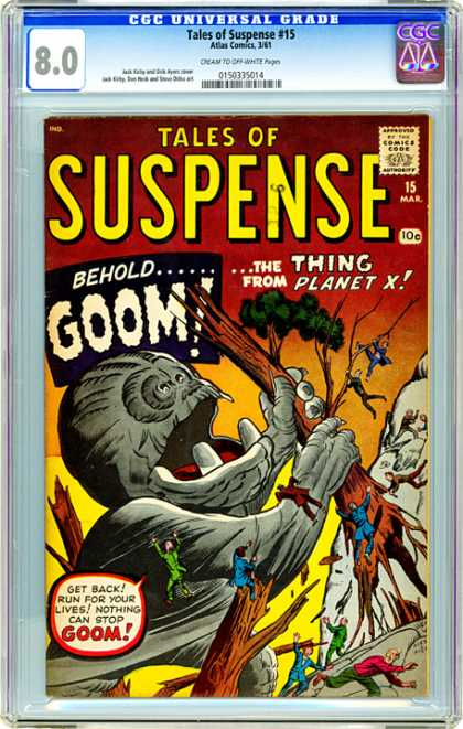 CGC Graded Comics - Tales of Suspense #15 (CGC)