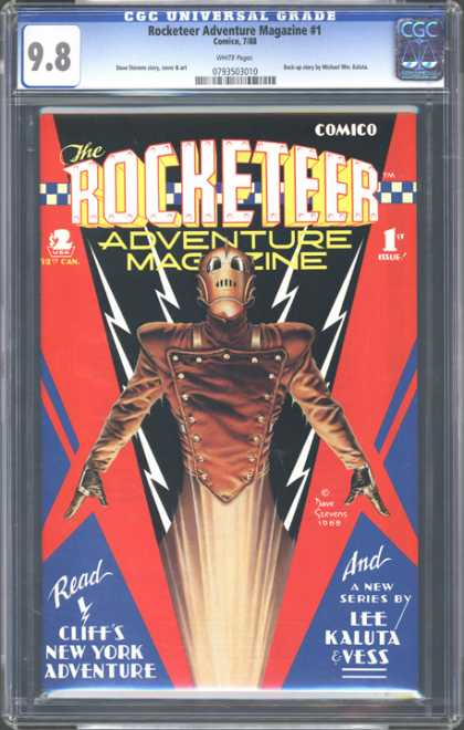 CGC Graded Comics - Rocketeer Adventure Magazine #1 (CGC)