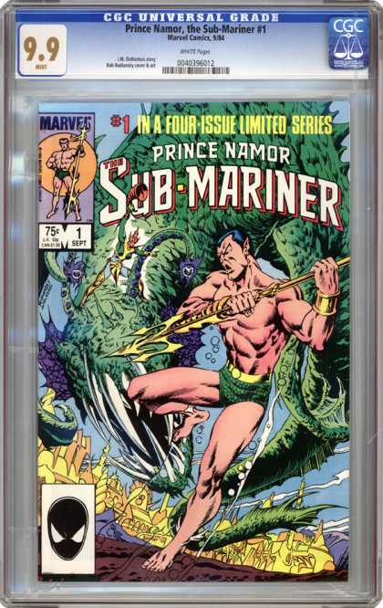 CGC Graded Comics - Prince Namor, the Sub-Mariner #1 (CGC) - Prince Namor - The Sub-mariner - 1 - Four-issue - Limited Series