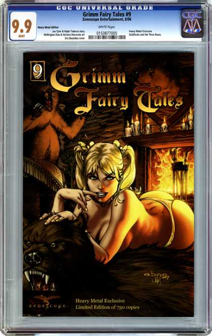 CGC Graded Comics - Grimm Fairy Tales #9 (CGC) - Grimm Fairy Tales - Heavy - Metal - Exclusive - June