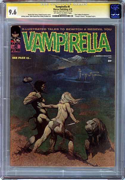 CGC Graded Comics - Vampirella #5 (CGC)