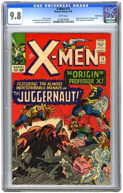 CGC Graded Comics - X-Men #12 (CGC)
