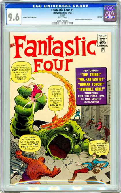 CGC Graded Comics - Fantastic Four #1 (CGC)