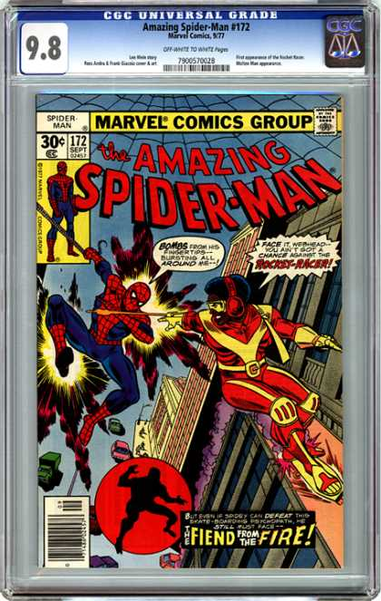 CGC Graded Comics - Amazing Spider-Man #172 (CGC)