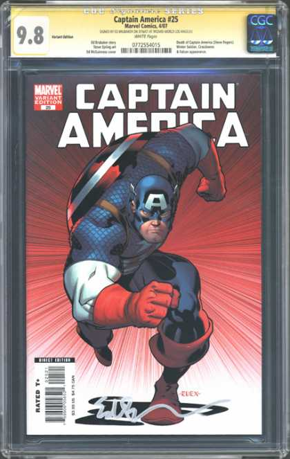 CGC Graded Comics - Captain America #25 (CGC)