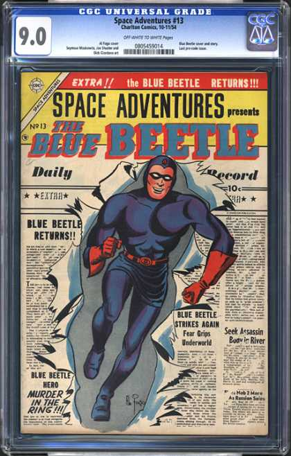 CGC Graded Comics - Space Adventures #13 (CGC)