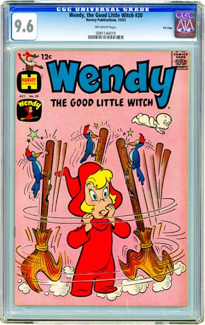 CGC Graded Comics - Wendy, the Good Little Witch #20 (CGC)