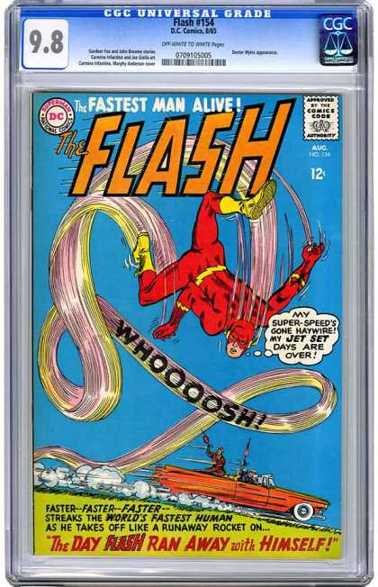 CGC Graded Comics - Flash #154 (CGC)