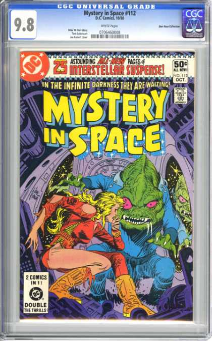 CGC Graded Comics - Mystery in Space #112 (CGC) - Mystery In Space - Suspense - Infinite Darkness - Asyouding - All New Boy
