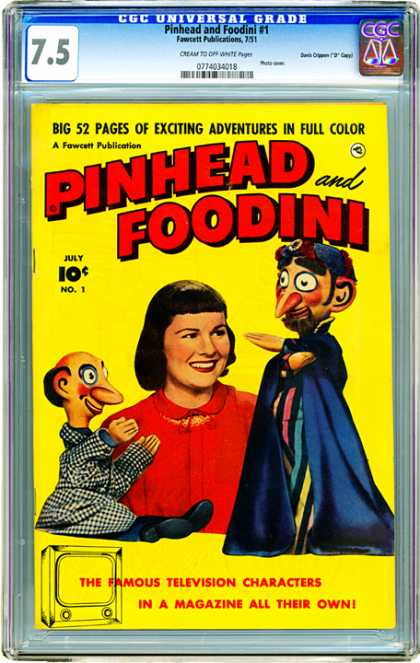 CGC Graded Comics - Pinhead and Foodini #1 (CGC)