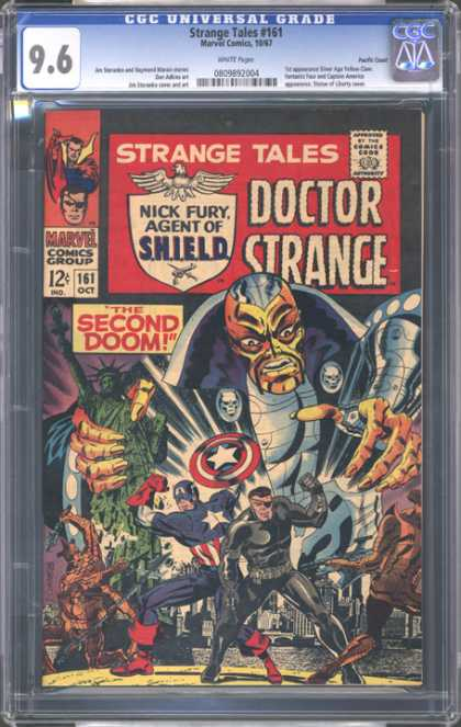 CGC Graded Comics - Strange Tales #161 (CGC)