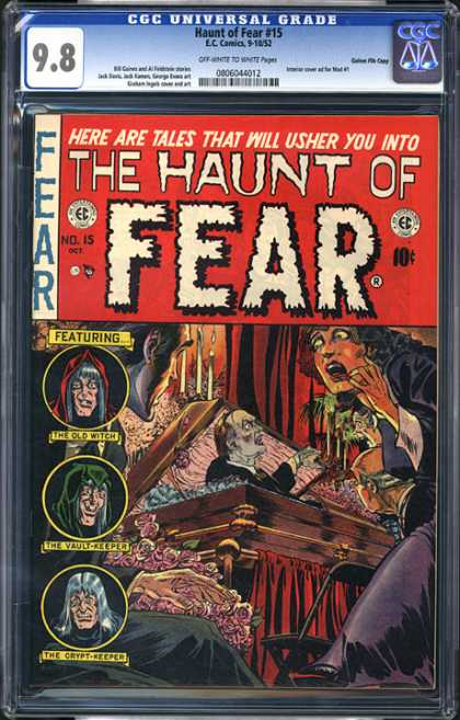 CGC Graded Comics - Haunt of Fear #15 (CGC)