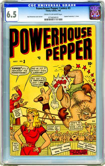 CGC Graded Comics - Powerhouse Pepper Comics #3 (CGC)
