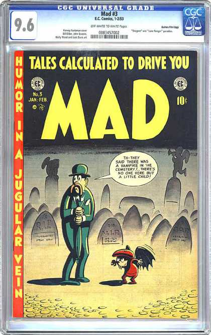 CGC Graded Comics - Mad #3 (CGC)