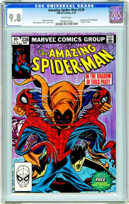 CGC Graded Comics - Amazing Spider-Man #238 (CGC) - Amazing Spider-man - Hobgoblin - Marvel Comics - Tearing Costume - Webs