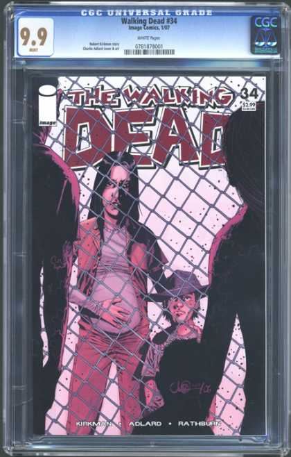 CGC Graded Comics - Walking Dead #34 (CGC) - Walking Dead 34 - Collectable Comics - Image Comics - Mint Walking Dead Comic - Mint Image Comics