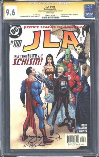 CGC Graded Comics - JLA #100 (CGC)